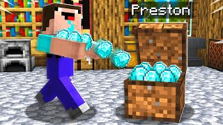 7 Ways to Steal Noob1234's Diamonds! - Minecraft