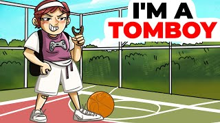 My Friends are All Boys | I'm a Tomboy  Animated Story