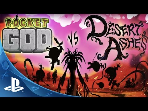 Pocket God vs Desert Ashes Trailer