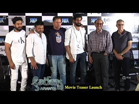 Aranya Movie Teaser Launch