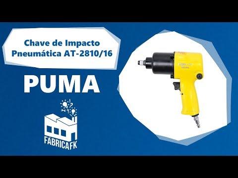 "Chave de Impacto Pneumática 1/2"" 66 kgfm AT-2810/16 Puma - Vídeo explicativo"