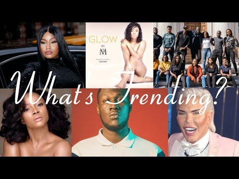 Stormzy's Scholarship | #OnTheCouchNaija | Glow by TM | Nicki Minaj Rants | What's Trending?