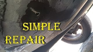 Hole in a Gas Tank Repair