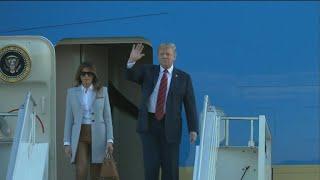 Trump arrives in Finland ahead of Putin summit