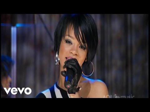 Rihanna - Shut Up and Drive (AOL Sessions)