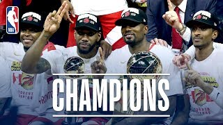 FULL 2019 NBA Championship Celebration From The Toronto Raptors