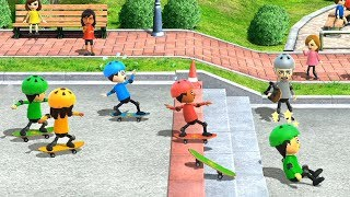Wii Party U Minigames - Player Vs Haixiang Vs Cheng-Han Vs Patricia