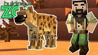 I'm Building A Zoo In Minecraft! - New Hyena Exhibit And More! - EP15
