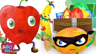 Fruit Song (Vitamin Quest) (2D) | CoCoMelon Nursery Rhymes & Kids Songs