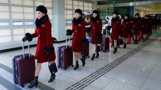Đội quân mỹ nhân Triều Tiên khuấy động Thế vận hội mùa Đông 2018