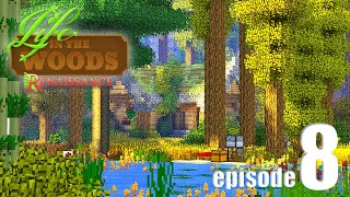 Life In The Woods (A Minecraft Adventure) - EP08 - Cozy Cabin!