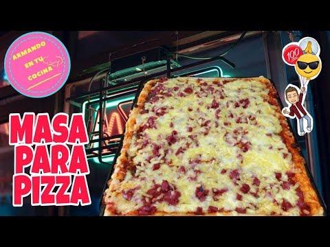 Masa para pizza casera