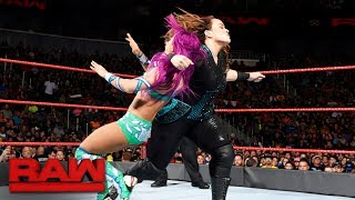 Sasha Banks vs. Nia Jax: Raw, June 19, 2017