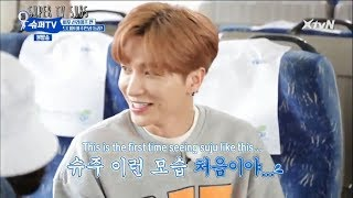 (PT/ENG SUBS)Super Junior Fighting Over The Same Woman Part1