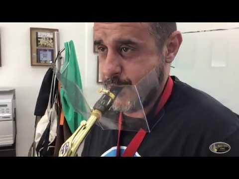 Mascarilla para instrumentistas de viento #covid19 #wewanttoplay