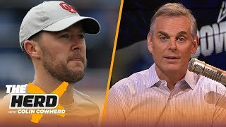 Lincoln Riley is the best option for Cowboys, Colin on Bears committing to Trubisky | NFL | THE HERD