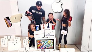 NO BUDGET AT THE APPLE  STORE **PART 2* *| Familia Diamond