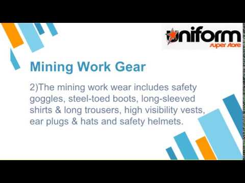 Mining Work Wear A Kind Of Preventive Clothing