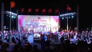 Hành khúc Đội TNTP Hồ Chí Minh | Đồng diễn Semaphore | THCS Hùng Vương