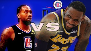 Los Angeles Clippers vs Los Angeles Lakers - FULL GAME | NBA 2K19
