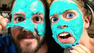 TOOTHPASTE PEELING MASK? - FIRST IMPRESSION FRIDAY ft. DOGMAN!