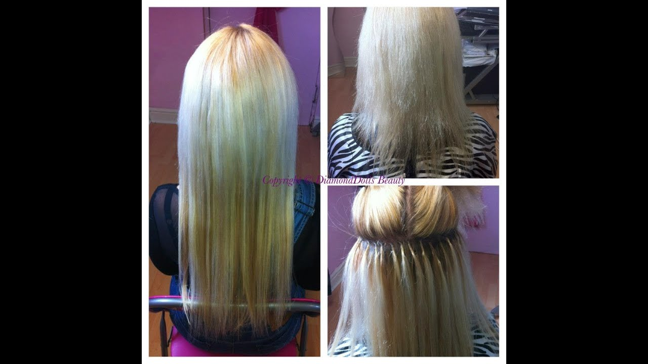 Micro Ring Loop Hair Extensions Review Youtube