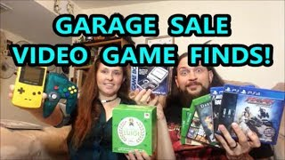 GARAGE SALE VIDEO GAME FINDS! SYSTEMS, GAMES, & TOYS!!  | Scottsquatch