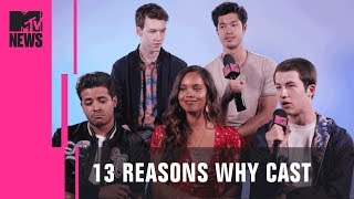 '13 Reasons Why' Cast Discuss Season 2 & Exploring Their Characters | MTV News