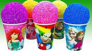 Play Foam Surprise Toys Disney Casr Masha and the bear Buzz Lightyear