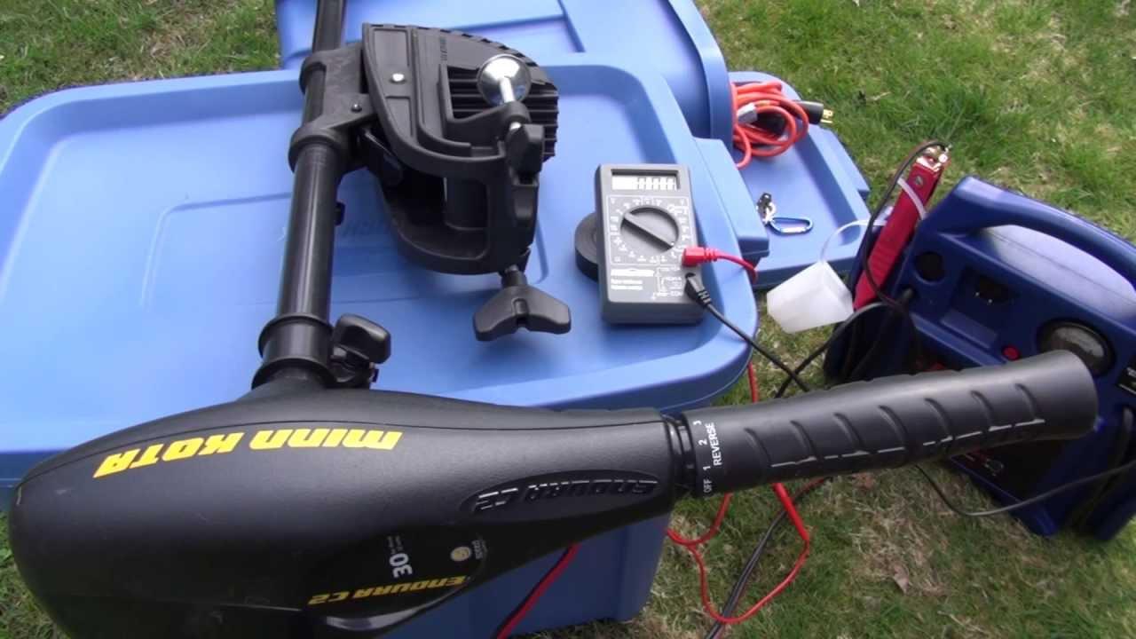 Jump N Carry Jnc660 >> Minn Kota Endura C2 trolling motor and JNC660 battery booster pack - YouTube