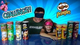 PRINGLES challenge con mi padre - Reto Pringles
