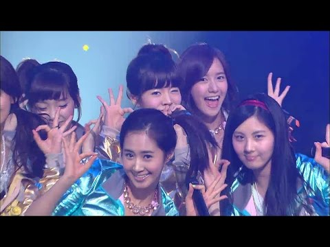 【TVPP】SNSD - Way To Go, 소녀시대 - 힘 내! @ Comeback Stage, Show Music Core Live