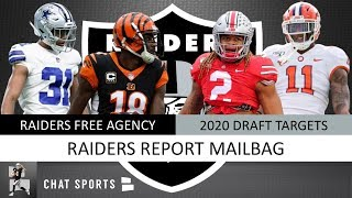 Raiders Free Agency Rumors On A.J. Green, Bryon Jones + Draft Rumors On Chase Young & Isaiah Simmons