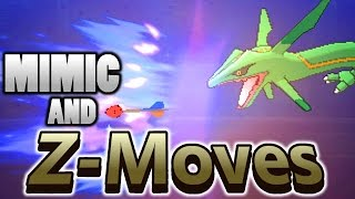 Can Mimic Copy a Z-Move In Pokemon Sun and Moon?