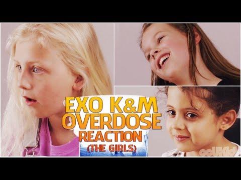 British Kids React to | EXO (K&M) 'Overdose' [The Girls] | ocUKids Kpop #5