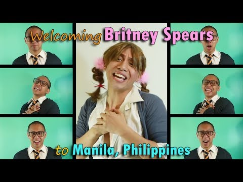 WELCOMING BRITNEY SPEARS to MANILA 2017 | ACAPELLA MASHUP 90's/2000's POP