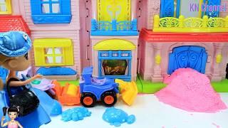 Thơ Nguyễn - Búp bê chơi cát động lực và ngôi nhà mini