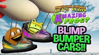 Amazing Frog: BLIMP BUMPER CARS! [Annoying Orange Plays]