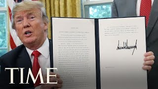 President Trump Signs Executive Order To Keep Immigrant Families Together | TIME