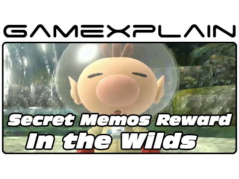 Pikmin 3: Secret Memos Reward Video #3: In The Wilds (Unlockable) - Smashpipe Games