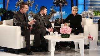 Ellen Meets Las Vegas Survivors Jesus Campos and Stephen Schuck