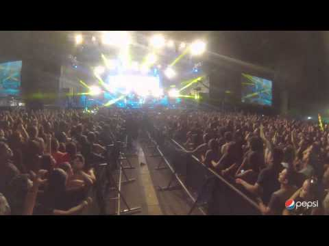 Calle 13 - Fiesta de Locos Costa Rica 2014