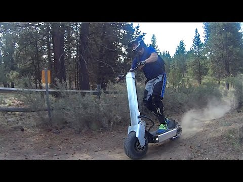 video Monster 8000w Electric Scooter – Up to 20 miles at 45 mph!!