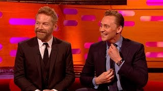 Tom Hiddleston's audition for Thor - The Graham Norton Show: Episode 2 - BBC One