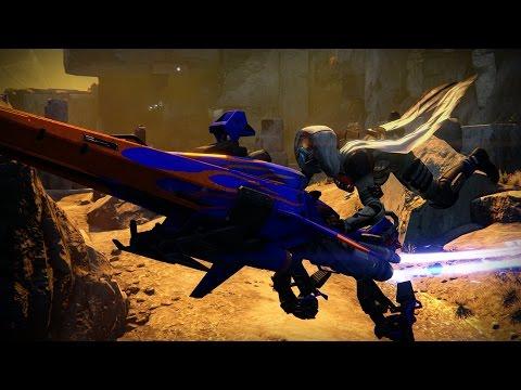 Official Destiny EV-30 Tumbler Sparrow Trailer