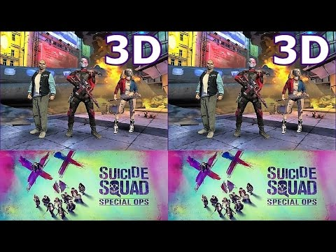 Suicide Squad Special Ops / Отряд Самоубийц спецназ 3D HSBS