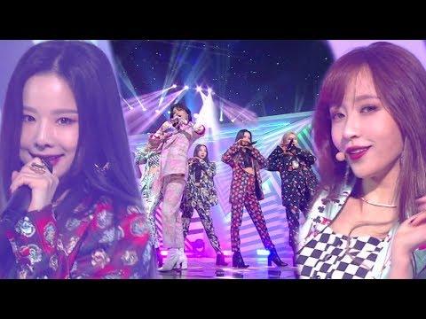EXID(이엑스아이디) - I LOVE YOU(알러뷰) @인기가요 Inkigayo 20181125