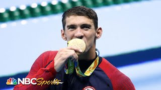Michael Phelps: The ultimate compilation of all 23 gold medals | NBC Sports