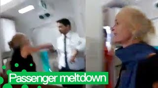 Drunk Passenger Goes Crazy on Air India Flight