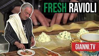 Fresh Ravioli with San Marzano Tomato Sauce, Italian Recipe - Gianni's North Beach